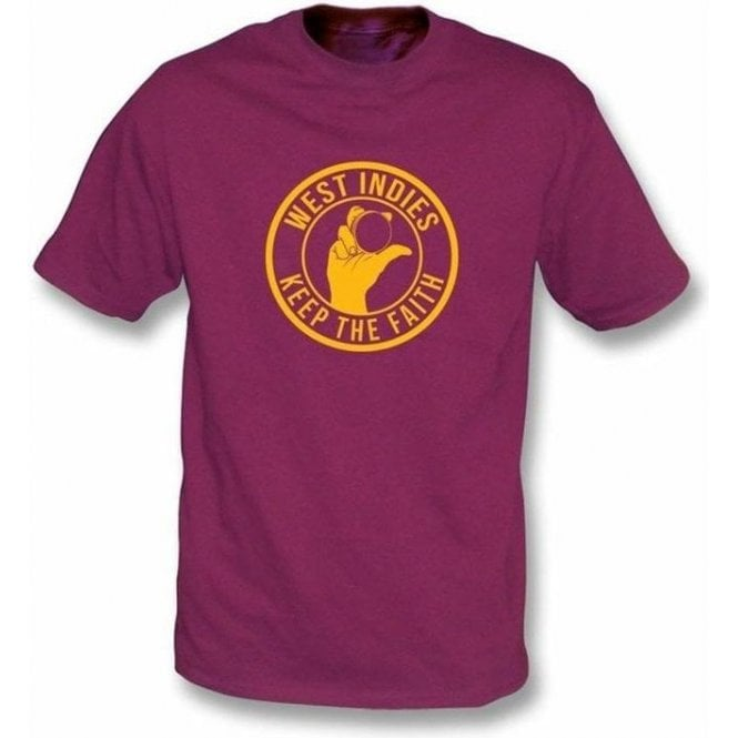 West Indies Keep The Faith T-shirt