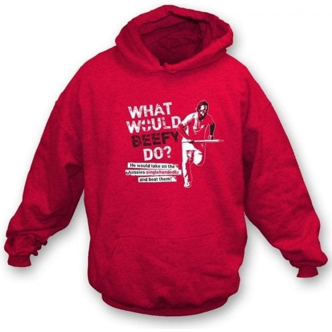 What Would Beefy Do? Children's Hooded Sweatshirt