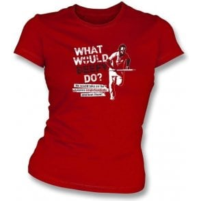 What Would Beefy Do? Women's Slimfit T-shirt