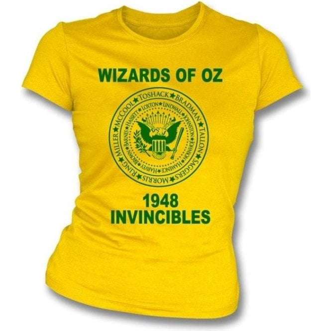 Wizards of Oz (Australia 1948) Womens Slim Fit T-Shirt