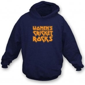 Women's Cricket Rocks Hooded Sweatshirt