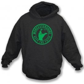 Worcestershire Keep The Faith Hooded Sweatshirt