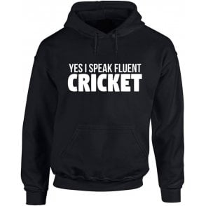 Yes, I Speak Fluent Cricket Kids Hooded Sweatshirt