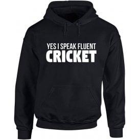 Yes, I Speak Fluent Cricket Kids Hooded Sweatshirt