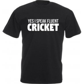 Yes, I Speak Fluent Cricket Kids T-Shirt