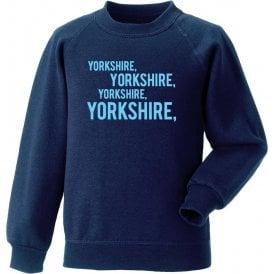 Yorkshire Chant Sweatshirt