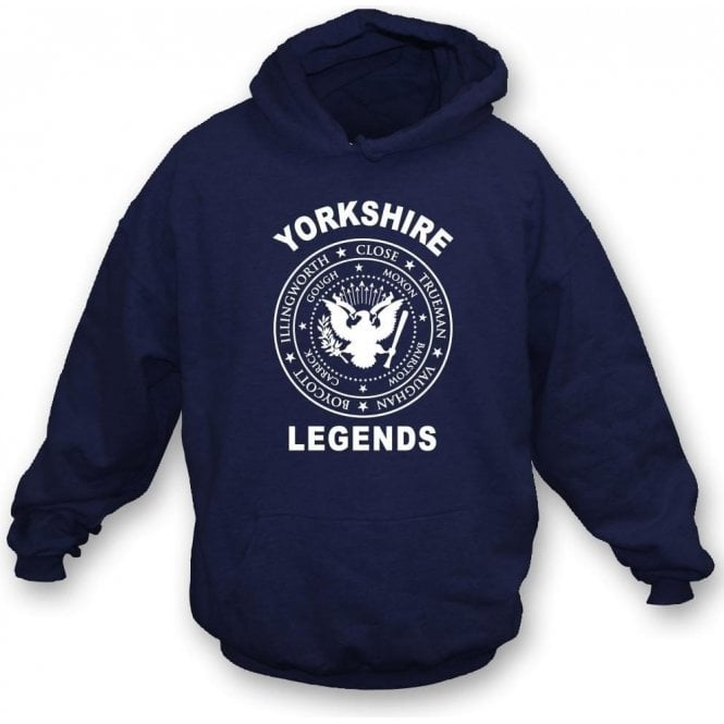 Yorkshire Legends (Ramones Style) Hooded Sweatshirt