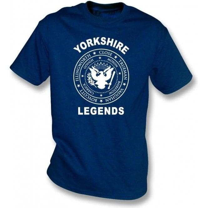Yorkshire Legends (Ramones Style) Kids T-Shirt