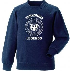 Yorkshire Legends (Ramones Style) Sweatshirt