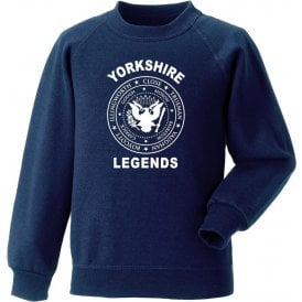 Yorkshire Legends (Ramones Style) Sweatshirt