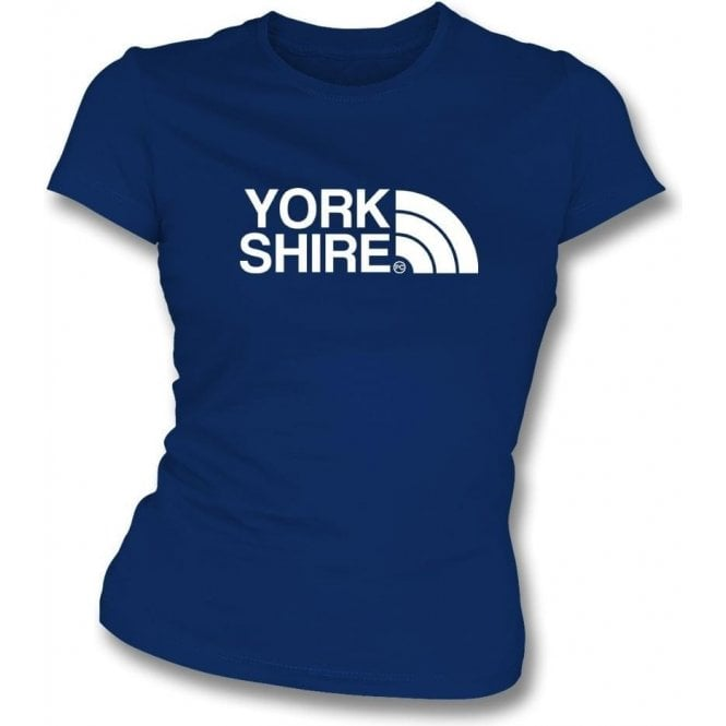 Yorkshire Region Womens Slim Fit T-Shirt