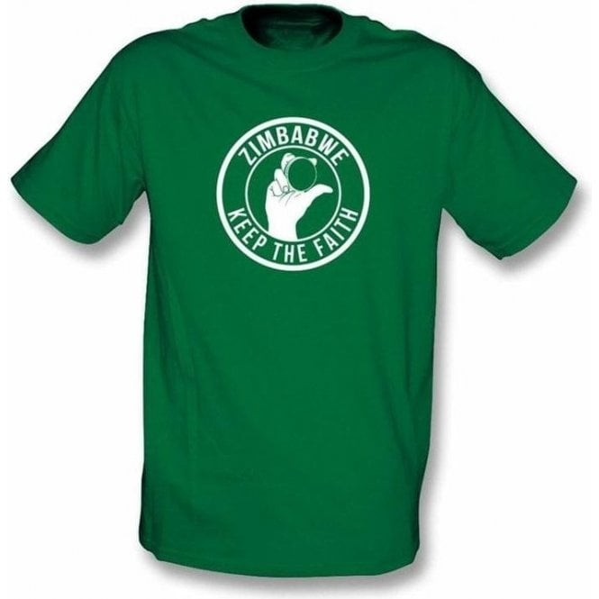 Zimbabwe Keep The Faith T-shirt